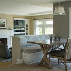Traditional Dining Room by Scheinholtz Associates