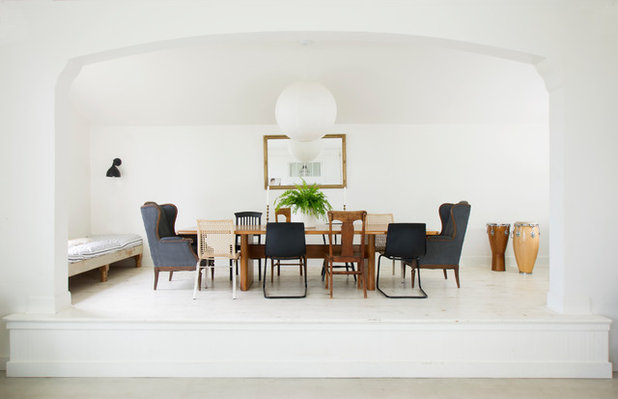Eclectic Dining Room by G Family, Inc.