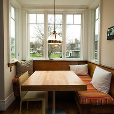 Traditional Dining Room by HC Design