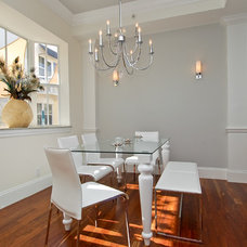 Contemporary Dining Room by Roth Diversified Construction