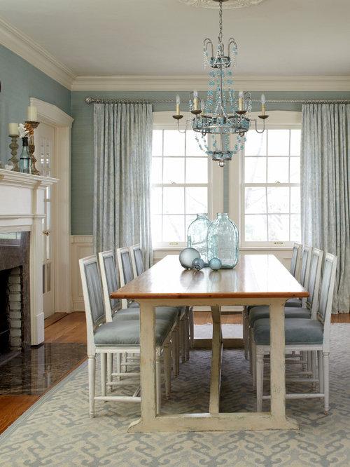Blue Dining Room Houzz  Blue Dining Room