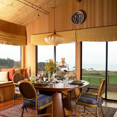 Eclectic Dining Room by Stacey Lapuk, ASID