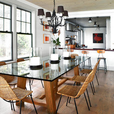 Beach Style Dining Room by Timeless Homes