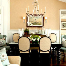 Traditional Dining Room by Warren Christopher Fine Floor Coverings