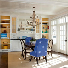 Traditional Dining Room by Hill Construction Company