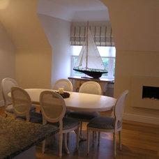 Modern Dining Room by Celia James
