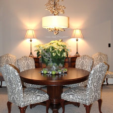 Traditional Dining Room by KDH Designs