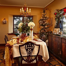 Traditional Dining Room by Timothy De Clue Design L.L.C