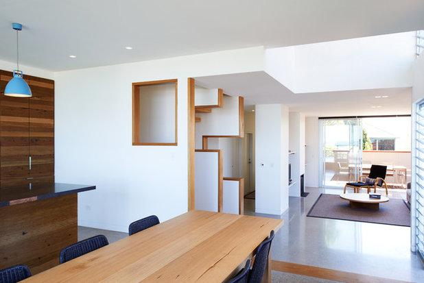 Contemporain Salle à Manger by Mackenzie Pronk Architects
