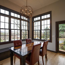 Contemporary Dining Room by The Stratford Companies