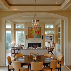 Contemporary Dining Room by Baxter Interiors