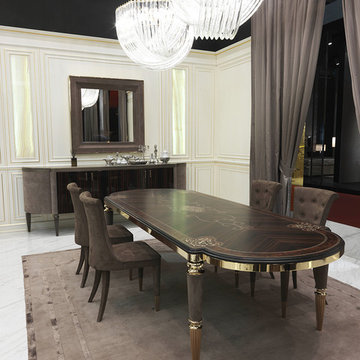 Selling: Layton Wood Table, Marion Chair, Julian Sideboard, Adone Mirror