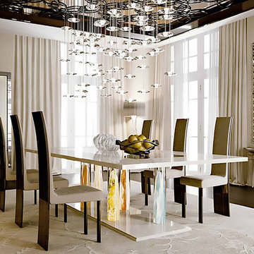 Selling: Nautilus Table, New York Chair, Ca D'oro Cabinet, Sirius Chandelier