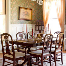 Traditional Dining Room by Rikki Snyder