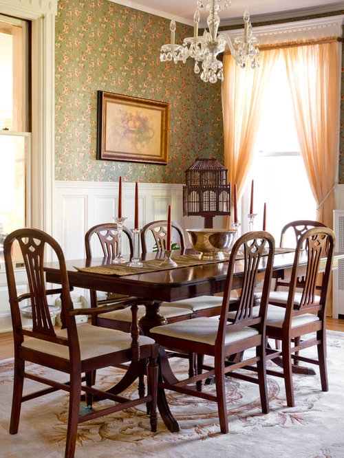 Victorian dining room home design ideas pictures remodel for Victorian house dining room ideas