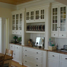 Farmhouse Dining Room by ONeill Group Inc.