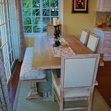 Traditional Dining Room by Coastal Classic Interiors