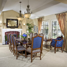 Traditional Dining Room by Lori Hollis
