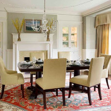 Traditional Dining Room by Kelly Rogers Interiors