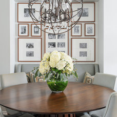 Transitional Dining Room by Simply Home Decorating
