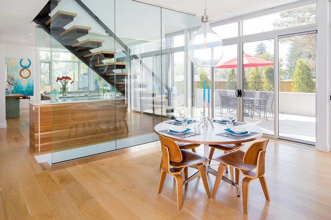 Contemporary Dining Room by Jason Hartog Photography