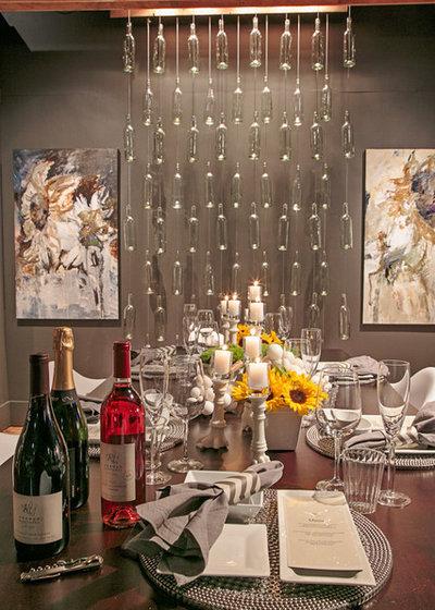 インダストリアル ダイニング by J. Myers & Associates - Interior Design Portland