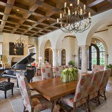 Mediterranean Dining Room Seven Oaks 1