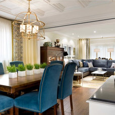 Contemporary Dining Room by Woodcraft.ca