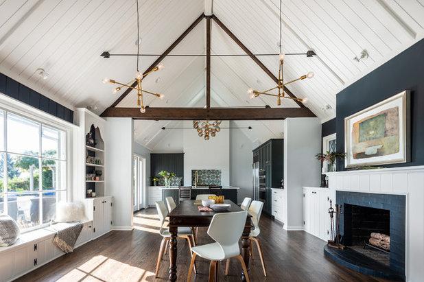 Farmhouse Dining Room by Board & Vellum