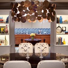 Contemporary Dining Room by Marks & Frantz Interior Design
