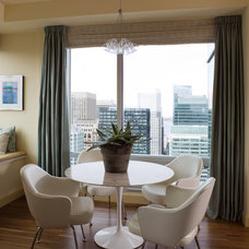 Modern Dining Room by Kendall Wilkinson Design