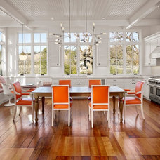 Farmhouse Dining Room by Bevan Associates