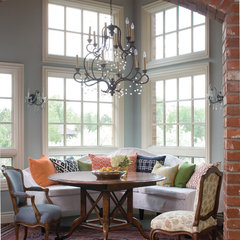 eclectic dining room by O Interior Design