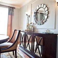 Eclectic Dining Room by Meredith Ericksen