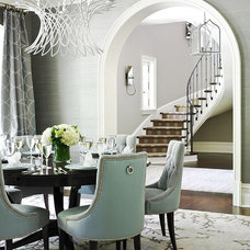 Modern Dining Room Shades of Grey dining room