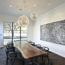 Contemporary Dining Room by Ellerman Homes