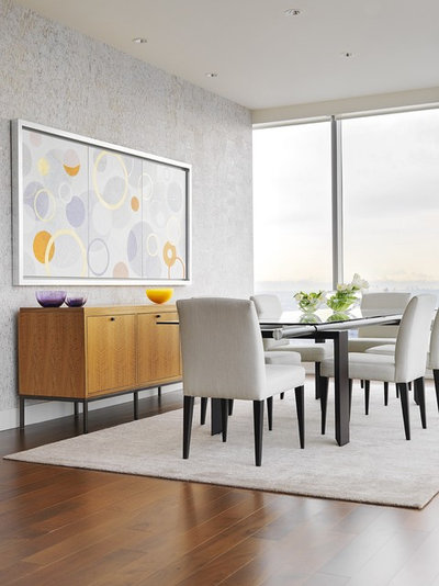 Contemporary Dining Room by Johnson + McLeod Design Consultants