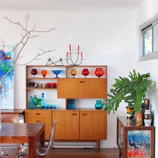 Eclectic Dining Room by RedAgape Blog