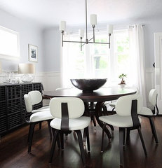 eclectic dining room by 8Foot6
