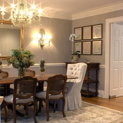 traditional dining room by Shari Misturak