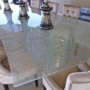 Shattered Glass Table Top