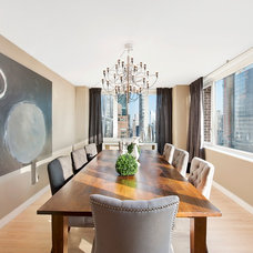 Contemporary Dining Room by Interior Marketing Group