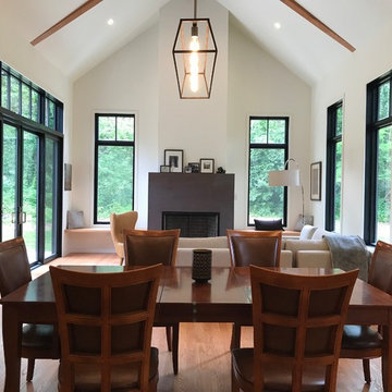 Shepherdstown, Contemporary, Modern Farmhouse in the forest