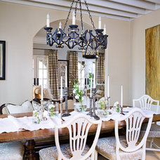 Traditional Dining Room by sherry hart