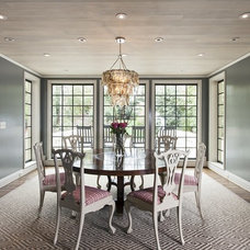 Traditional Dining Room by Holly Phillips @ The English Room