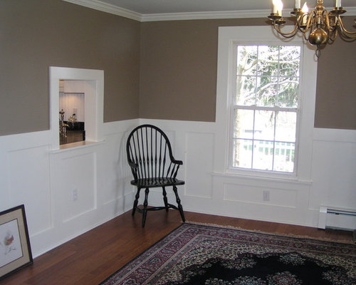 Wainscoting Under Windows Home Design Ideas Pictures