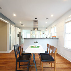 Contemporary Dining Room by Moontower Design Build