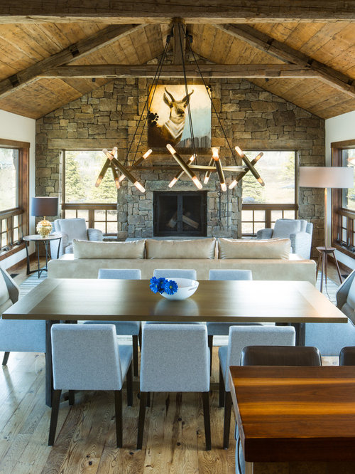 rustic modern living room houzz 25 best ideas about rustic dining rooms on pinterest