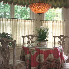 Traditional Dining Room by Terri Ervin Decorating Den Interiors