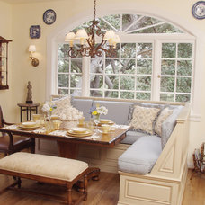 Traditional Dining Room by Reaume Construction & Design